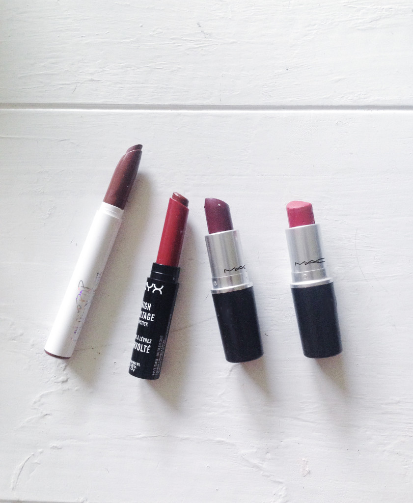 My 4 Favorite Fall Lipsticks 2015 on TheDailyMonarch.com